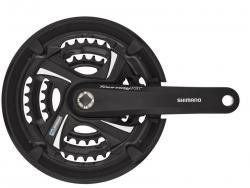 Shimano FC-TX801 Kurbelgarnitur MTB/Trekking TOURNEY - Vierkant - 48z