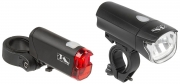 M-Wave LED Fahrrad Lampenset Atlas K50