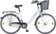 BBF 26 Zoll Damen Citybike, 3 Gang Shimano, ND + Korb