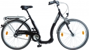 BBF 26 Zoll Tiefeinsteiger Damen Citybike, 3 Gang Shimano