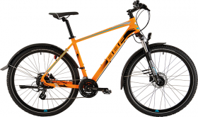 BBF 27,5 Zoll ATB Mountainbike, 24-Gang Shimano, Scheibenbremsen, Licht