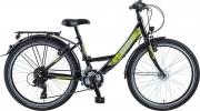 BBF 24 Zoll Mädchen Jugendrad, 21-Gang Shimano, StVzO Ausstattung