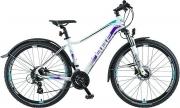 BBF 27,5 Zoll Lady-ATB-Mountainbike, 24-Gang Shimano, Scheibenbremsen
