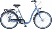 BBF Bergen  26 Zoll Tiefeinsteiger Citybike , 3-Gang Shimano ,  nur 15kg