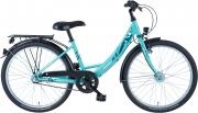 BBF 24 Zoll Mädchen Jugendrad, 3-Gang Shimano, StVZO Ausstattung
